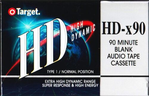 TARGET HDx90 NORMAL POSITION TYPE I BLANK AUDIO CASSETTE AUS