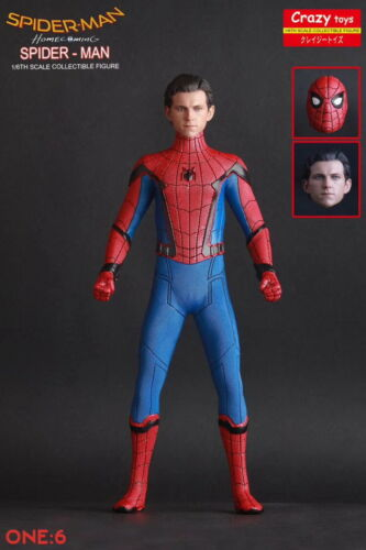 1//6TH SPIDER MAN HOMECOMING 12/'/' BY CRAZY TOYS DOLL STATUE MODEL GIFT