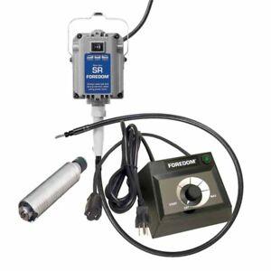 30 Handpiece FCT Control Foredom SR Motor 1//6hp Flex Shaft Kit Flexible Shaft