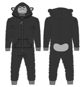 Karneval Kinder Onesie Jumpsuit Kapuze Polyester-fleece Freizeit Gorilla Affe