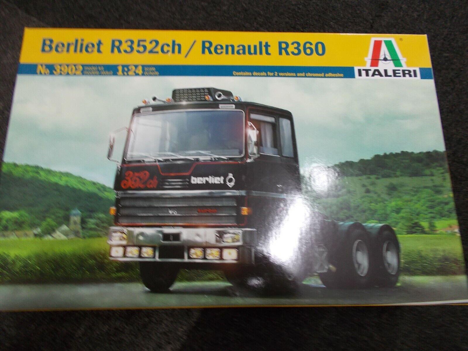 ITALERI BERLIET R352ch   RENAULT R360
