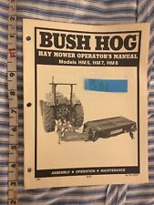 Bush Hog Hay Mower Hm5 Hm7 Hm8 Operators Manual 20 Pages