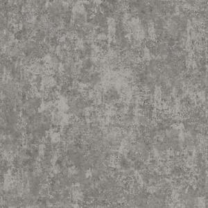Wallpaper-Steel-Gray-Faux-Finish-Plaster-Look