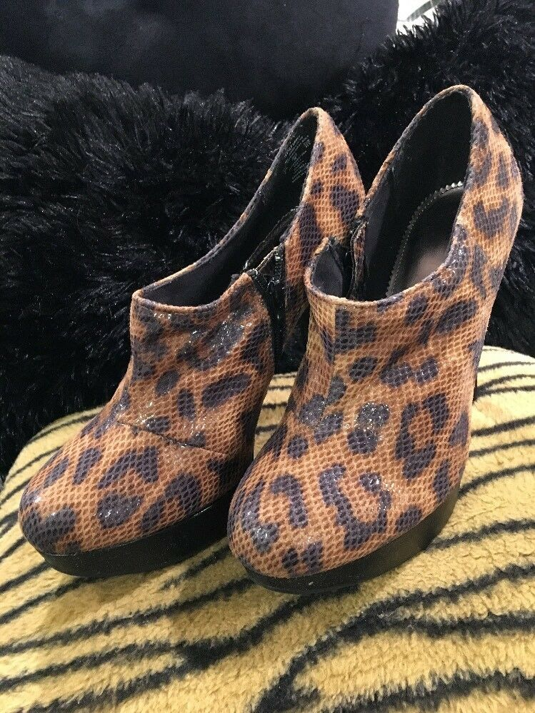 NEWWomen's Shoe UK Style, by French Connection Animal Print Stilettos: Size 9