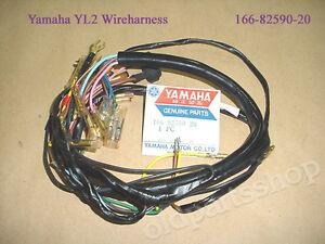 yamaha yl2 wireharness nos yg5 wire harness 166 82590 20 loom l2 rh ebay com