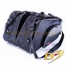 Pair Bestem LGHO-ST13H-SDW Black Full Size Saddlebag Sideliners for Honda ST1300