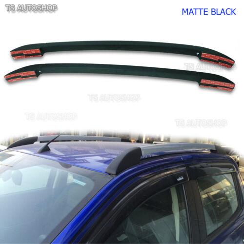 Matte Black Abs Roof Rack Bar For Ford Ranger T6 Mk2 Px4 Px Wildtrak 2012 2017