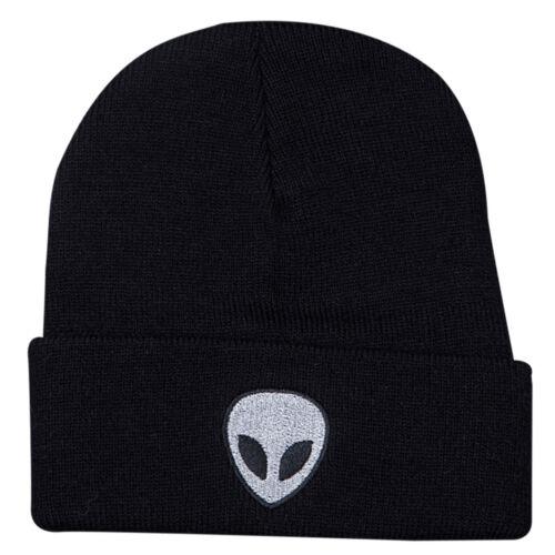 Men Women Alien Pattern Candy Color Knitted Explosion Fashion Hat Cap Wool Hat