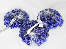 300 Cobalt Blue Crystal Marble s - 3 Bags - NIB Made in USA of Recycled Glass!