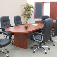 Bargain 6ft 10ft Conference Room Table Cherry Mahogany Or Ash Gray