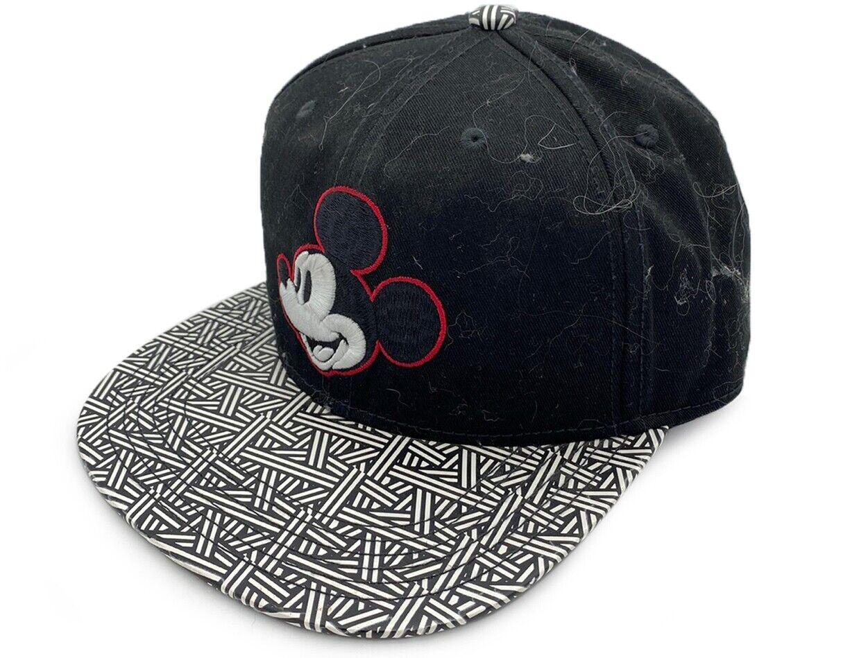 Disney Mickey Maus Bedruckt Logo Schwarz Baseball Kappe/ Hut