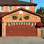 thumbnail 1 - CCINEE-Halloween-Monster-Face-Outdoor-Decoration-with-Eyes-Fangs-Nostril-Garage