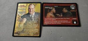 WWE-Raw-Deal-PAUL-HEYMAN-GENERAL-MANAGER-SS3-2-card-SET-DANGEROUSLY-CLOSE
