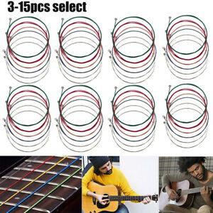3-15-x-Set-of-Guitar-Strings-Replacement-Steel-String-for-Acoustic-Guitar