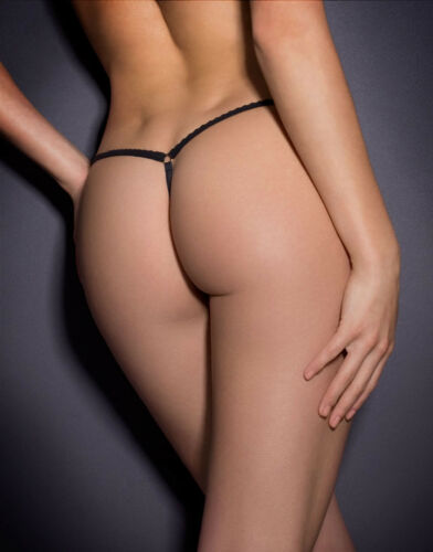 AGENT PROVOCATEUR NOEMI STAR THONG LARGE AP4 12-14 BNWT