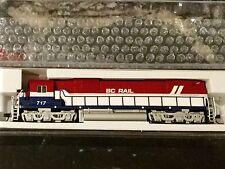 ATLAS 1/160 N Scale C-630 British Columbia BC Rail Road # 717 DCC # 40002006 F/S