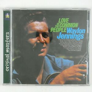 WAYLON-JENNINGS-Love-Of-The-Common-People-CD-1999-COUNTRY-ROCK-NM-NMN