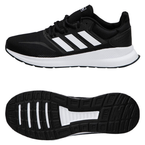 nieve nada para ver  Adidas Men's RunFalcon Running Shoes Athletic Training Sneakers Black F36199    eBay
