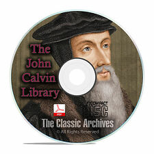 Complete Works of John Calvin, Bible Commentary, 64 books Christian Study CD F23