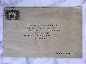 Album-lettera-d-039-lavori-ed-edizioni-di-Sajou-Parigi