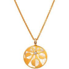 Bvlgari Intarsio 18K Rose Gold Necklace