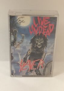 Slayer - Live Undead - Cassette Tape 72217-4 1987