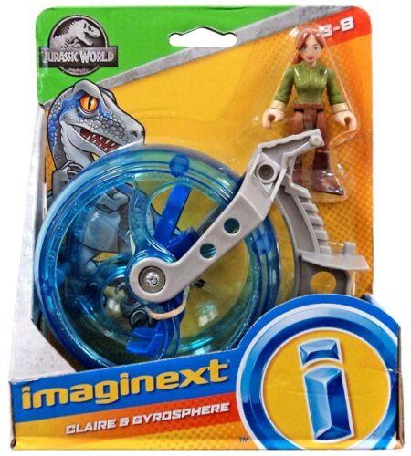 Imaginext JURASSIC WORLD 2 CADUTI REGNO-Claire /& gyrosphere-Nuovo di Zecca
