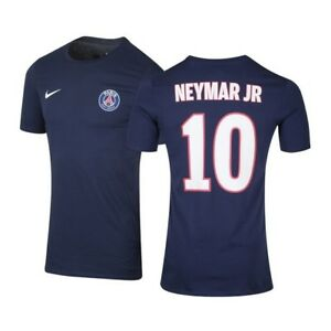 Détails sur Tee Shirt Nike PSG Neymar Taille L neuf et authentique maillot paris saint