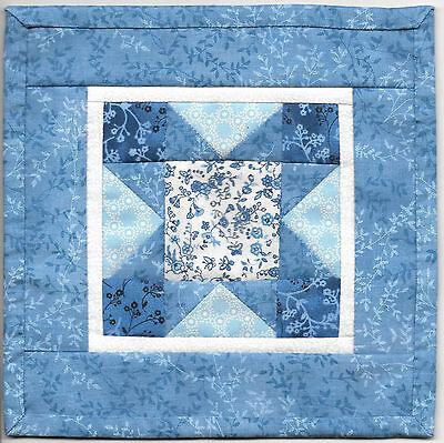 Miniature SCRAPPY STAR Dollhouse Mini QUILT #6030 Great for OOAK Sculpt Doll