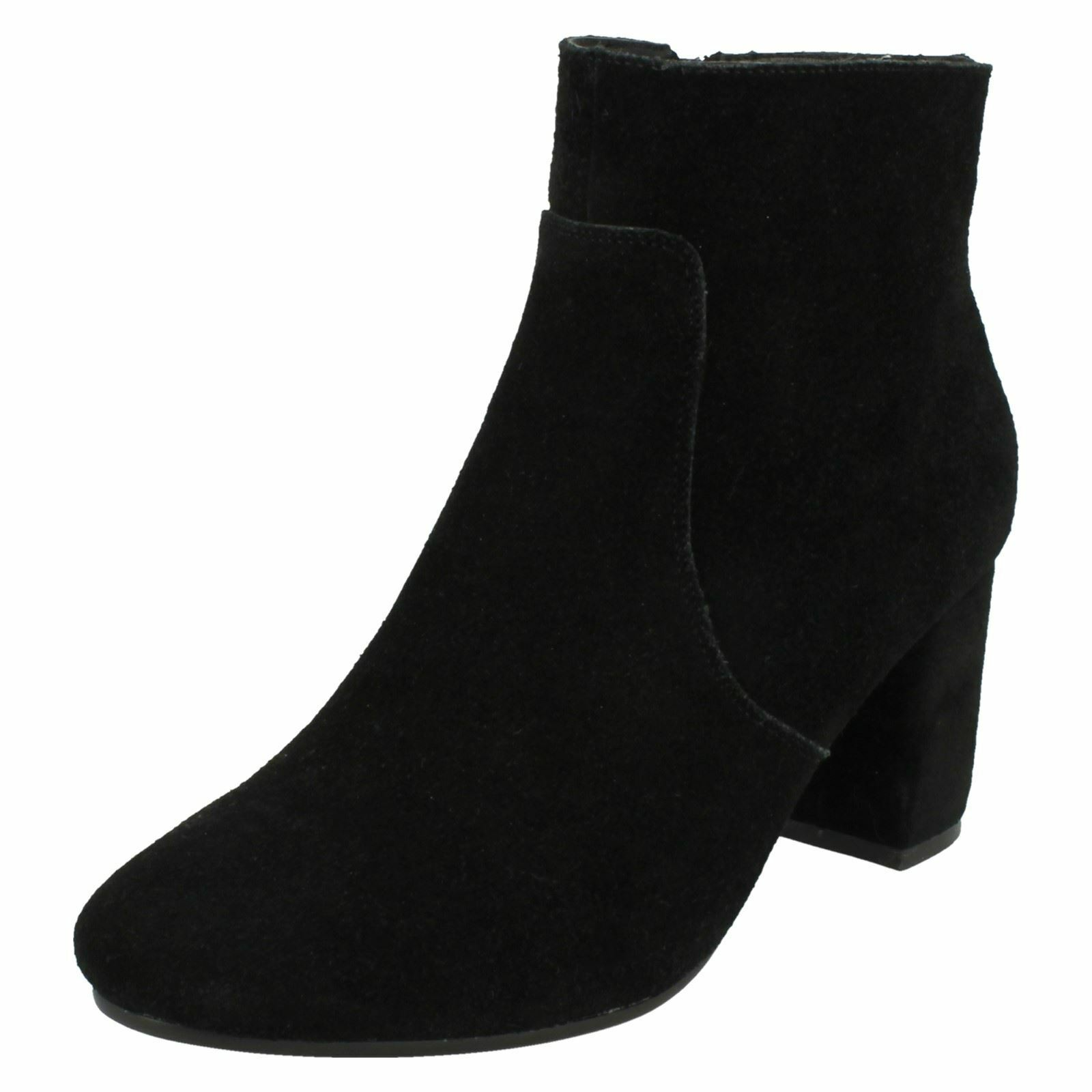 Ladies Leather Collection Suede - Ankle Boots