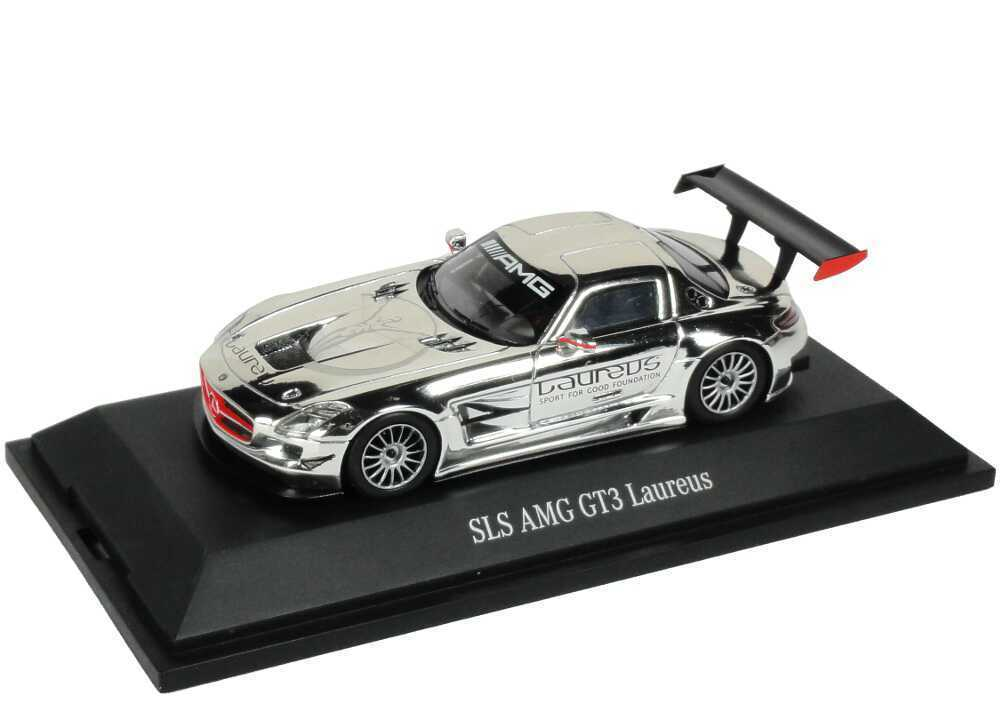 rivenditore di fitness 1 43 Mercedes-Benz SLS AMG gt3 Laureus-Dealer-edizione Laureus-Dealer-edizione Laureus-Dealer-edizione OEM-Spark b66963962  prima qualità ai consumatori