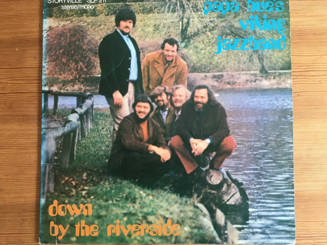 LP, Papa Bue's Viking Jazzband, Down By The Riverside,…