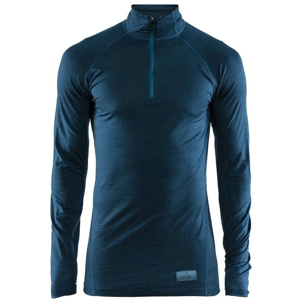 Craft Merino LW Zip Langarmshirt blue