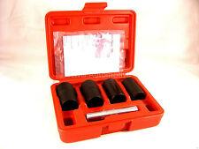 Locking Wheel Nut Bolt Remover, Grip n Twist Sockets, 17,19,21,22mm NEW UK STOCK