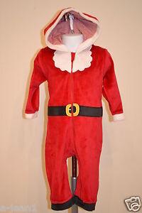 NEXT NEW 9-12 MONTHS CHRISTMAS SANTA BABY ONESIE, ALL IN ...