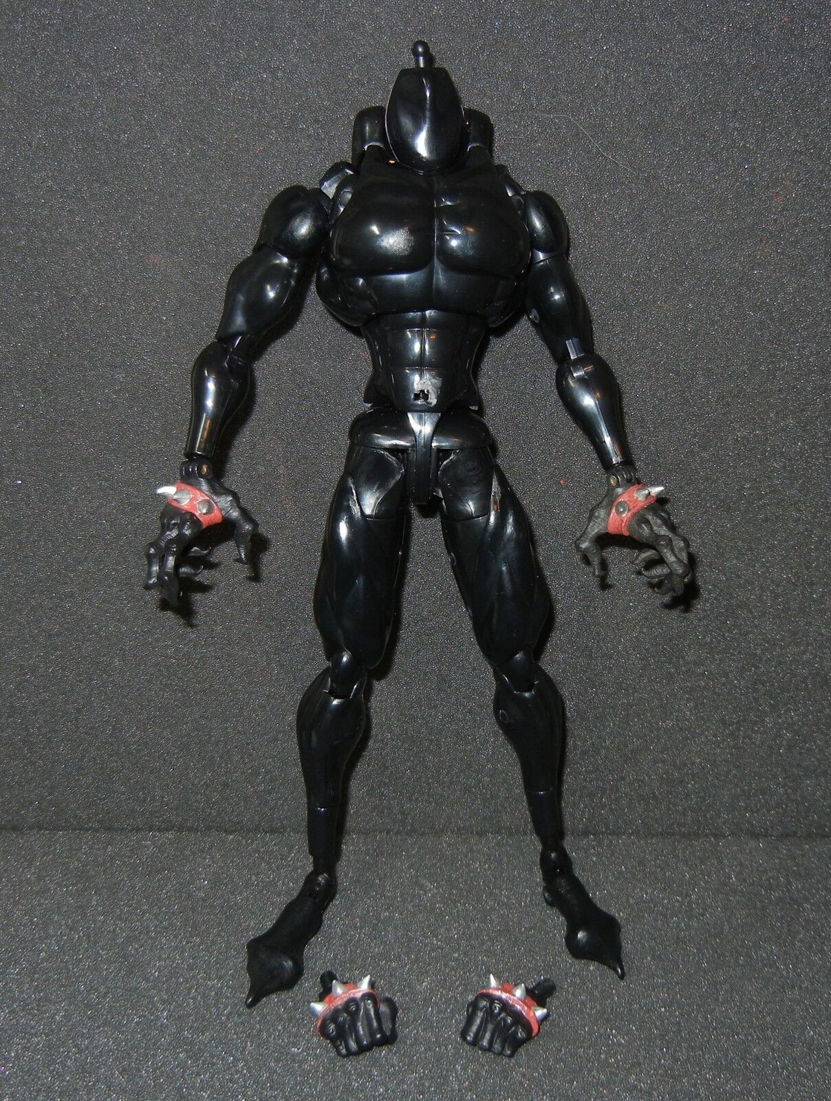 Medicom McFarlane Real Action Heroes RAH Spawn Figure BODY HANDS FEET ONLY