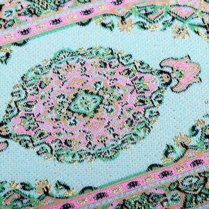 Pokoje i domki dla lalek DOLLHOUSE RUG MINIATURE CARPET SMALL MINI FURNITURE TOY 4X6 1:12 PERSIAN BLUE Zabawki