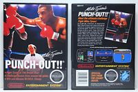 Mike Tyson's Punch-out - Nintendo Nes Custom Case - No Game