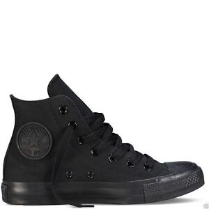 Star Nero Sneakers Converse Pumps Scarpe Sneaker Hi Mono Canvas All Tops Uq8Hqr5z