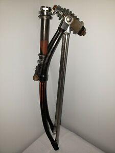 1953-SCHWINN-PANTHER-SPRINGER-FORK-26-034-BLACK-ORANGE-VINTAGE-S2-HORNET-AS-PHANTOM