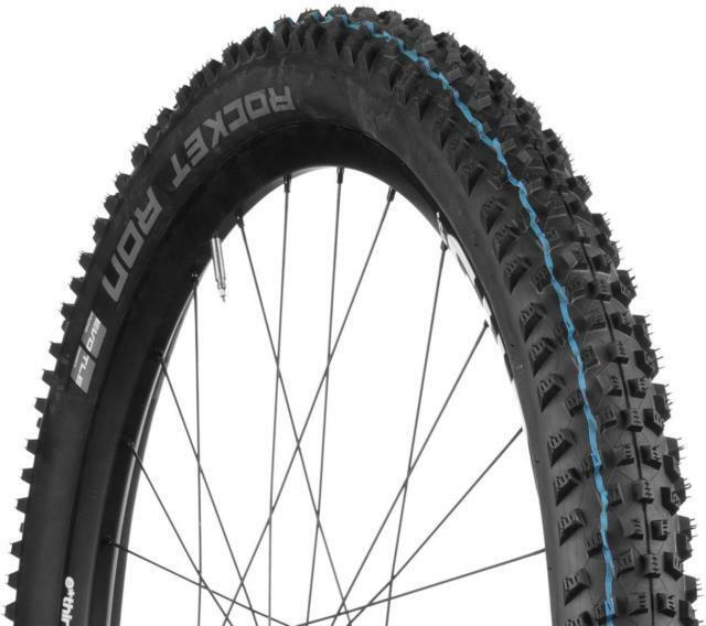"SCHWALBE ROCKET RON ADDIX SPEEDGRIP Snakeskin Evo tire 29/"" x 2.25 blue TL-EASY"