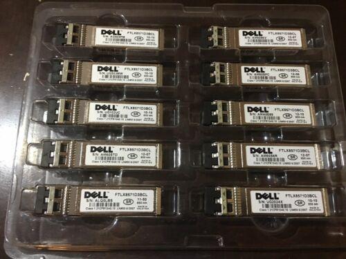Dell Netgear A3440870 AXM761-10000S SFP+SR LC 850nm MMF price each.