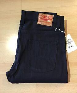 0025ee5c BIG JOHN Made in Japan Men's Selvedge Jeans KURO2 M106-61B Slim ...
