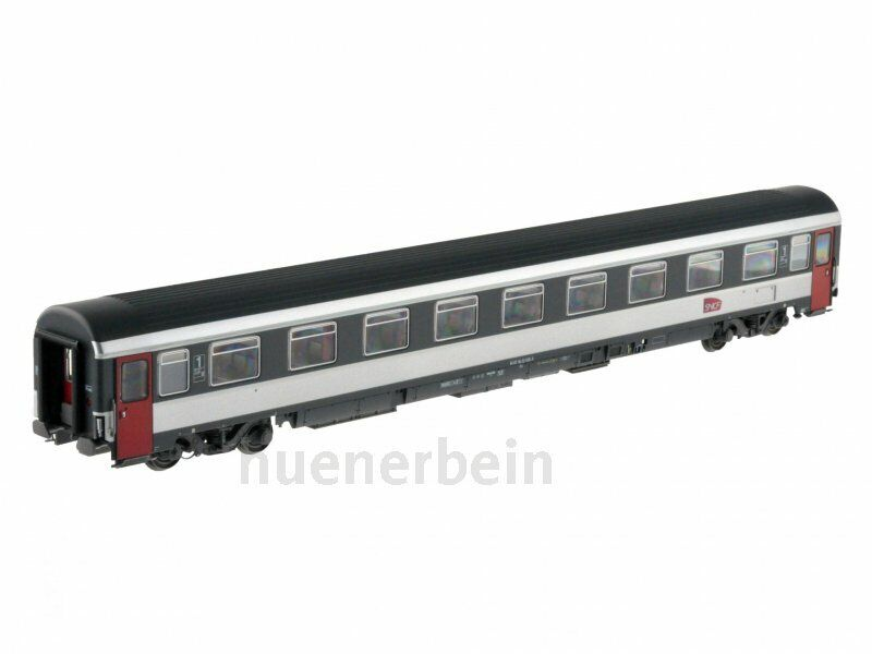 LS Models 40374 SNCF 1. KL. Eurofima Carriages A9u VSE CORAIL RED GREY Ep5 NEW + OVP