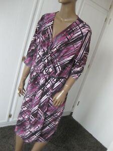 designer fashion 6ca13 c9b6d Details zu Bonita sehr schönes Kleid 46 / XXL Wickelkleid 3/4 Arm