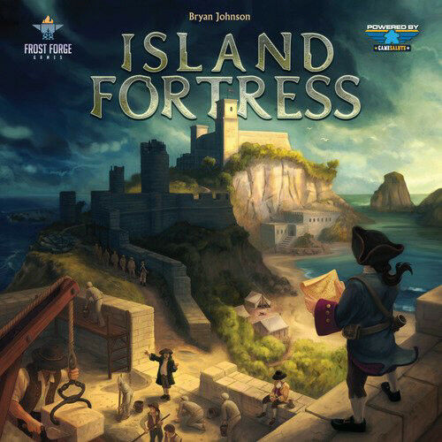 Island Fortress Board Game - (New)