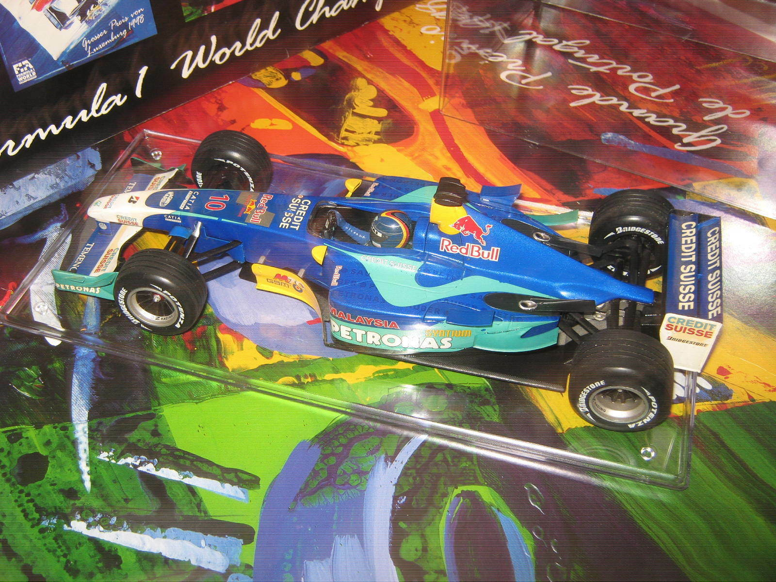 1 18 Sauber Petronas Petronas Petronas C22 H H.Frentzen 2003 MINICHAMPS in showcase TOP 181d70