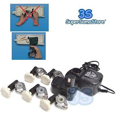 3s Cartellatrice Elettrica A Batteria Caricatore Dima Dime Matrice Di Ricambio