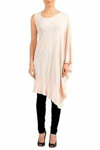 b7be651f2d6 Maison Margiela MM6 Pink One Sleeve Knitted Women's Tunic Dress US M ...