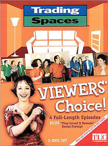 Trading-Spaces-Viewer-039-s-Choice-DVD-2003-2-Disc-Set